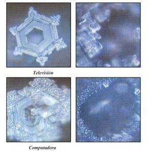 Cristales bajo los efectos de las ondas electromagnéticas