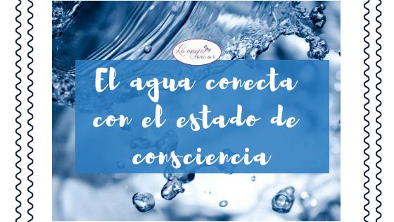 Agua que fluye y conecta