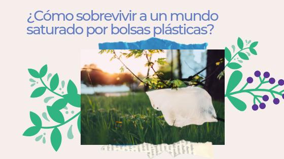 Cómo sobrevivir a un mundo saturado por bolsas plásticas